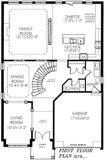 The daytona - Main Floor - Floorplan